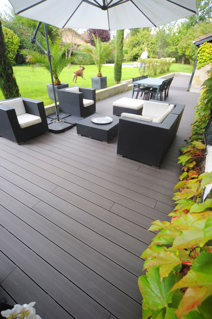 Choix materiaux r novation lame de terrasses et for Lame de terrasse en composite