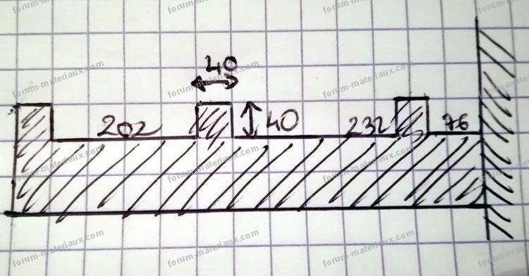 plan clôture mur en créneau